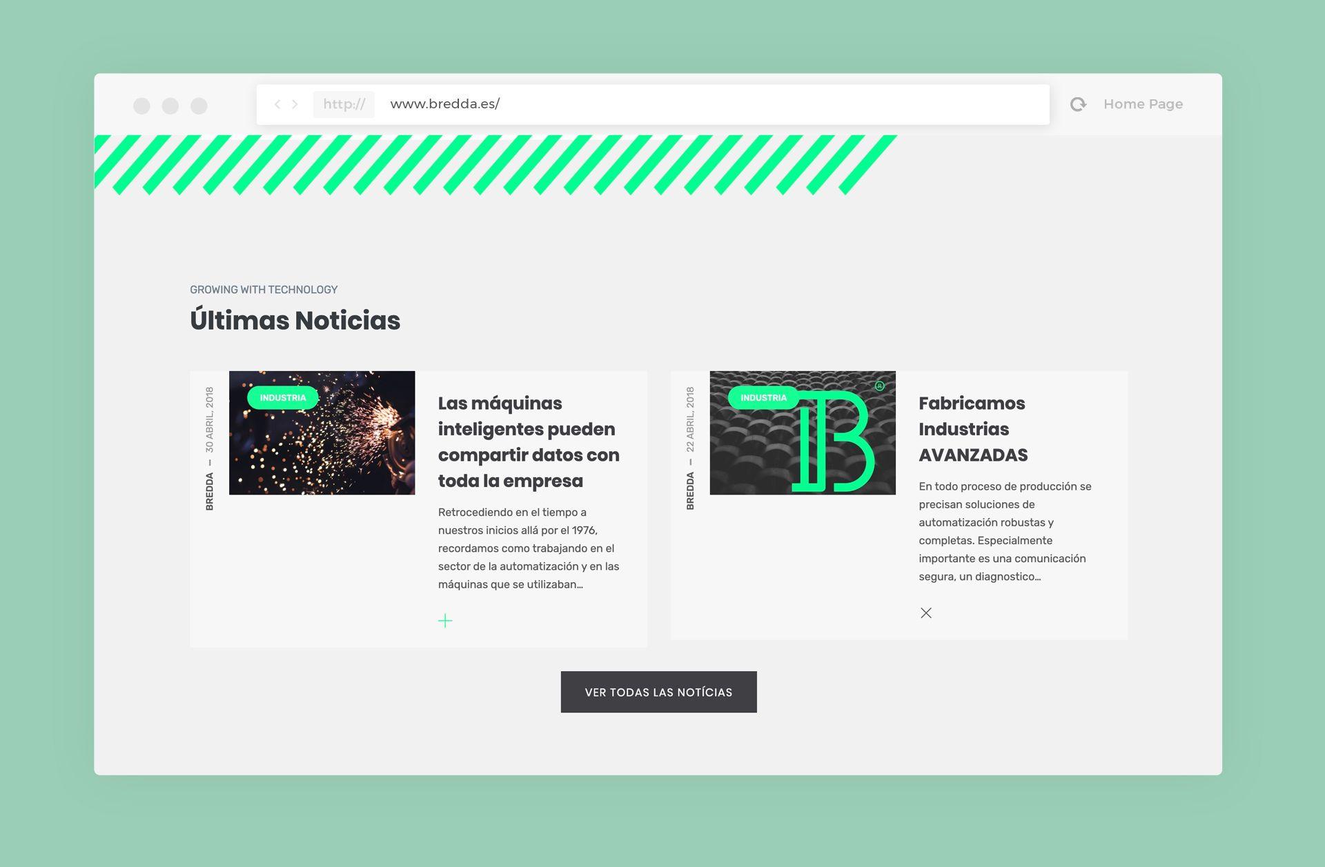 diseño web bredda