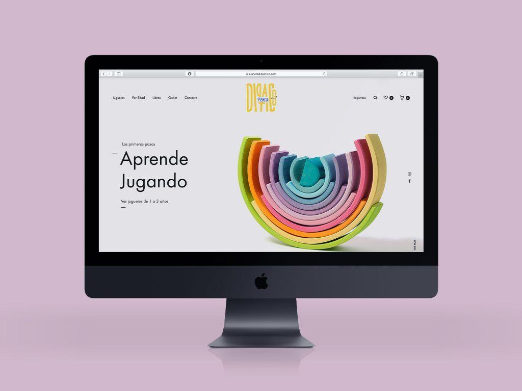 diseño web planeta didactico