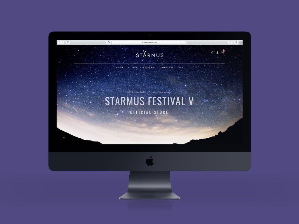 diseño tienda online starmus