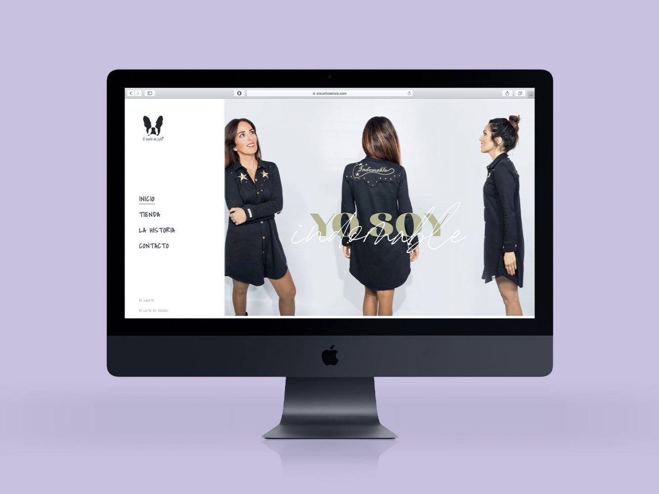 diseño tienda online el sueño de lola