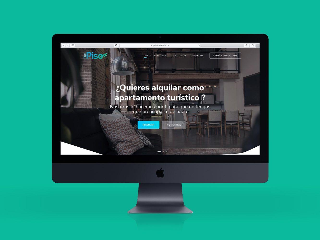 diseño web the piso
